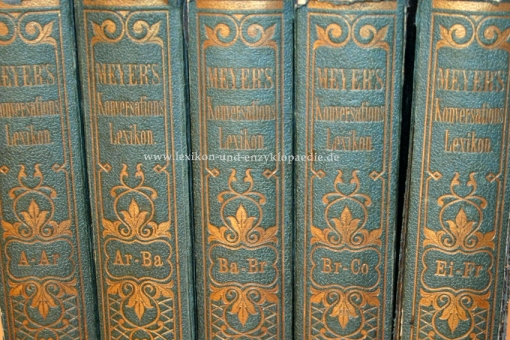 Meyers Konversations-Lexikon 2. Auflage, Einzel-Band (II)