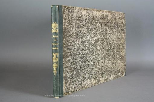 Atlas der Abbildungen zu Pierers Universal-Lexikon Zweiter (2.) Auflage, 68 Tafeln, 1848