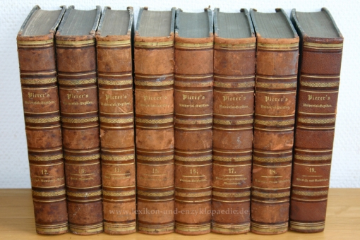 Pierers Universal-Lexikon, Encyclopädisches Wörterbuch 4. Auflage, Band 13 (Pfiff - Reidsville), 1861 13