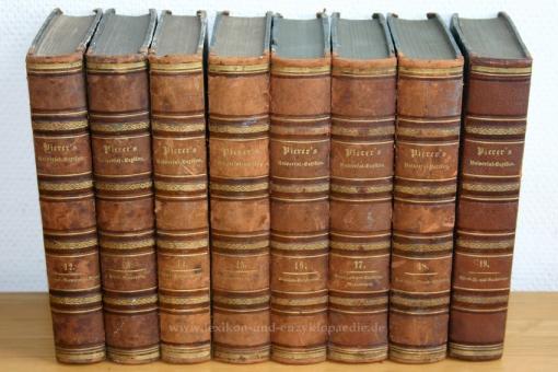 Pierers Universal-Lexikon, Encyclopädisches Wörterbuch 4. Auflage, Band 14 (Reif - Saugeschacht), 1862 14