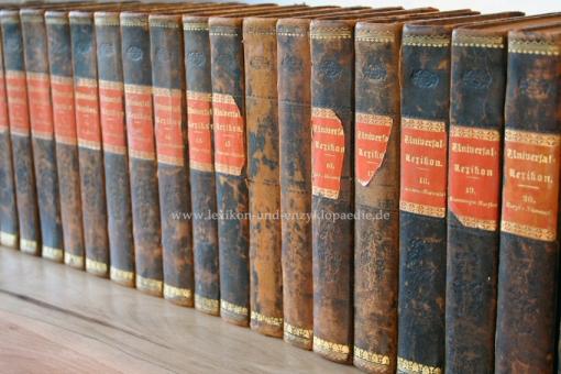 Pierers Universal-Lexikon, Encyclopädisches Wörterbuch 2. Auflage, Band 21 (Niemann - Ozzek), 1844 (I) 21