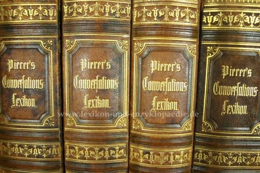 Pierers Universal-Conversations-Lexikon 6. Auflage, Einzel-Band