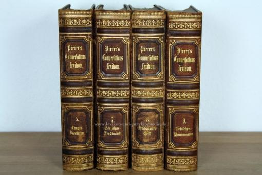 Pierers Universal-Conversations-Lexikon 6. Auflage, Band 7 (Eckzähne - Ferdinand), 1876 7