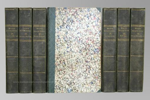 Pierers Universal-Lexikon, Encyclopädisches Wörterbuch 2. Auflage, 34 Bände, 1840-1846 (II)
