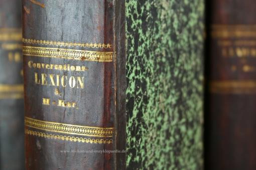 Reichenbach, Allgemeines Conversations-Lexicon, 12 Bände (incl. Supplemente), 1840-1844