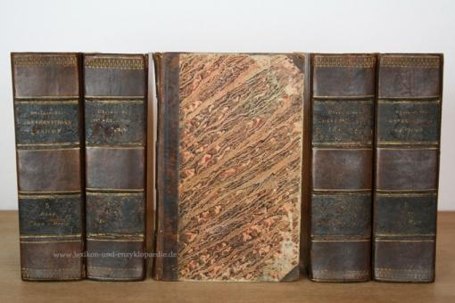 Rheinisches Conversations-Lexicon 4. Auflage, 12 Bände (A-Z), 1837-1845