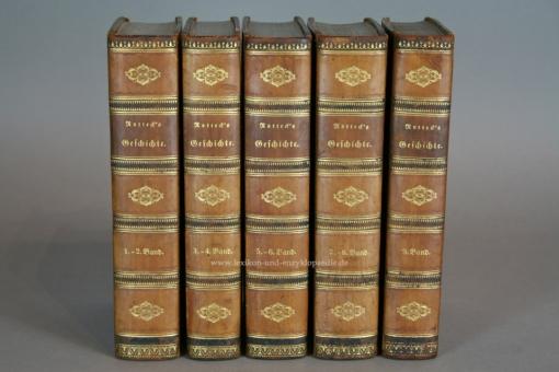 Rotteck, Allgemeine Geschichte vom Anfang der historischen Kenntniß ... 9 Bände, 1833-1834
