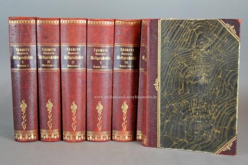 Spamers Illustrierte Weltgeschichte 4. Auflage, 11 Bände incl. Register, Prachtausgabe, 1902