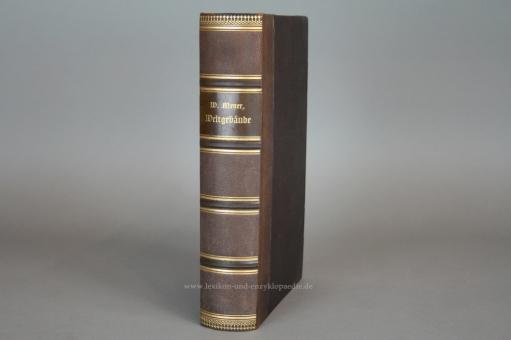 Meyer, Das Weltgebäude. Eine gemeinverständliche Himmelskunde, Astronomie, Chromolithographien, 1898