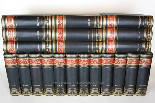 der gro e brockhaus 15 auflage einzel band prachtausgabe lexikon und enzyklop die