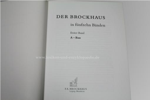 Der Brockhaus in 15 Bänden, 1997-1999