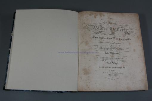 Herder, Systematische Bilder Gallerie (Galerie) zur allgemeinen deutschen Real-Encyclopädie (1825/1828/1830/1840)