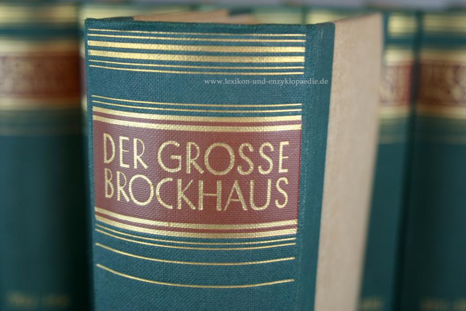 der gro e brockhaus 15 auflage 21 b nde incl erg nzungen 1928 1935 lexikon und enzyklop die